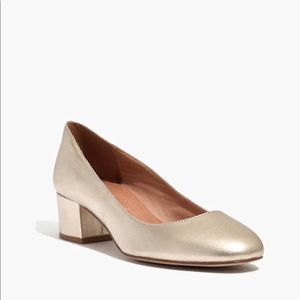 Madewell Shoes - Madewell the ella pump in metallic sz 8.5M